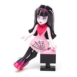 MH Glam Ghoul Band Draculaura Mega Blocks Figure