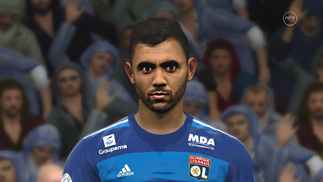 PES 2017 Rachid Ghezzal face by Prince Hamiz