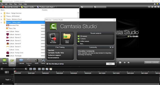 تحميل برنامج تصوير الشاشة فيديو للكمبيوتر مجانا CamStudio