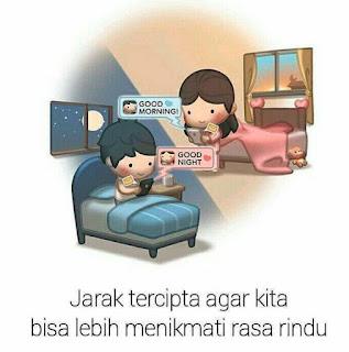 Kata romantis untuk pasangan jarak jauh (ldr)
