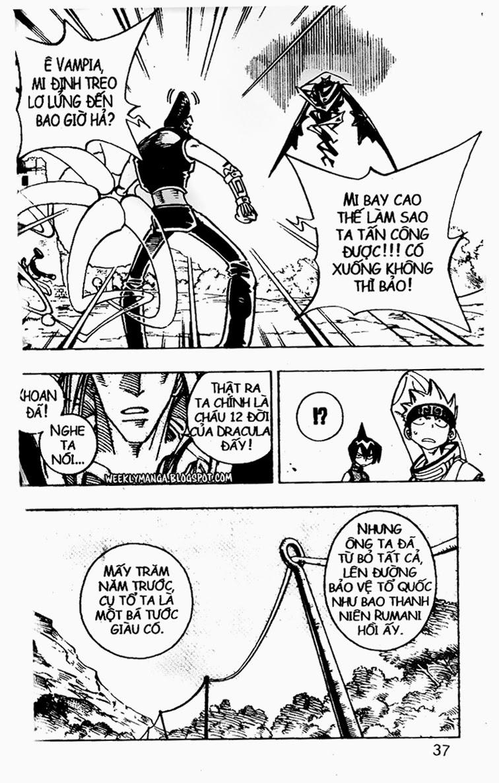 Shaman King [Vua pháp thuật] chap 99 trang 7