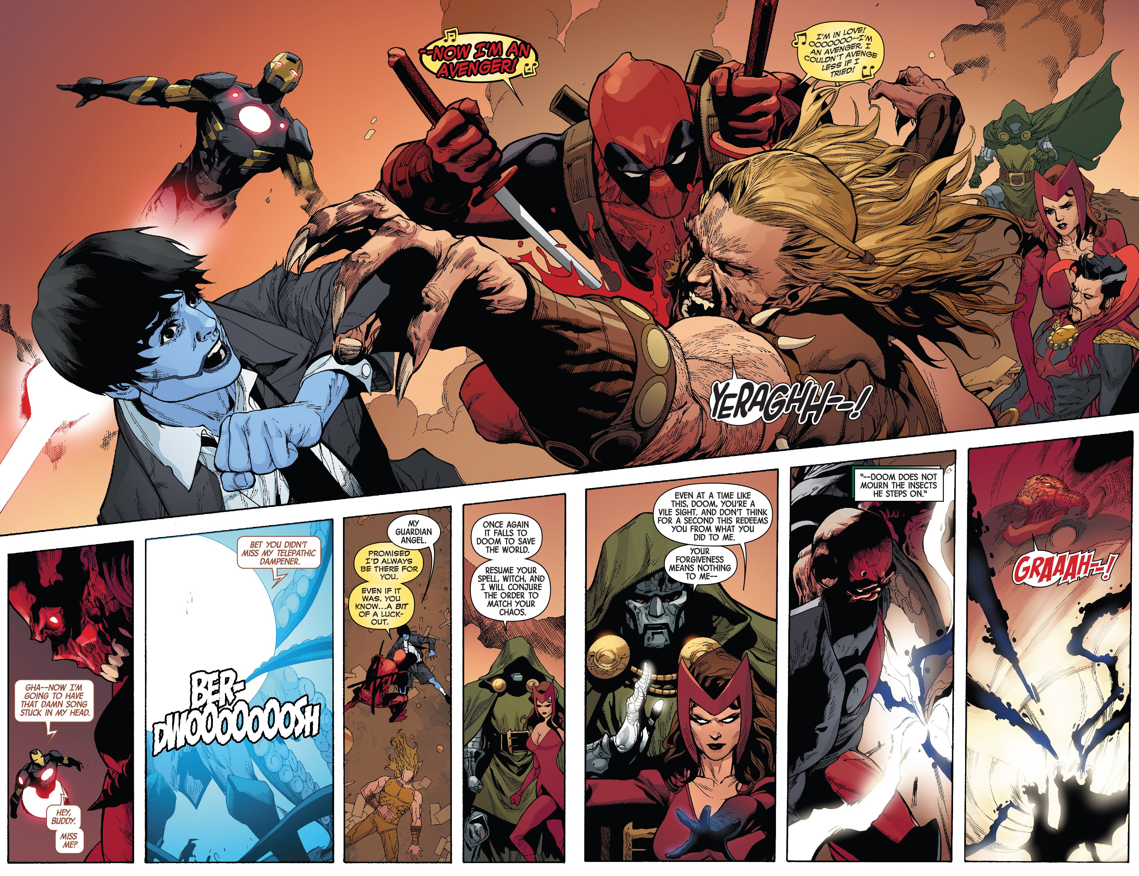 Read online Avengers & X-Men: AXIS comic -  Issue #3 - 19