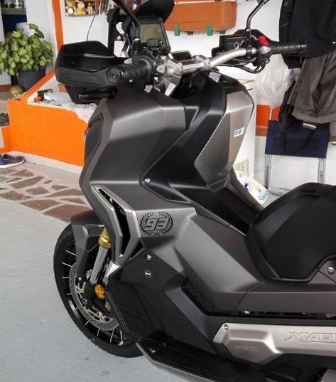 Dashboard Honda X ADV baru kunci jok sparepart