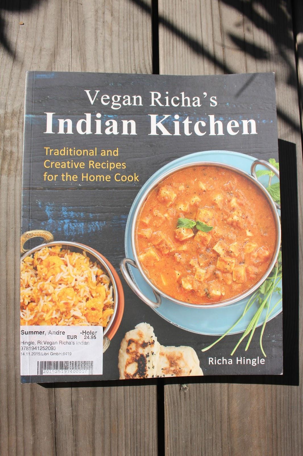 Vegan ohne Soja: Buchrezension: Vegane Indische Küche von Richa Hingle