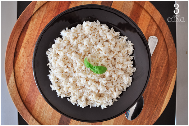 receita arroz integral