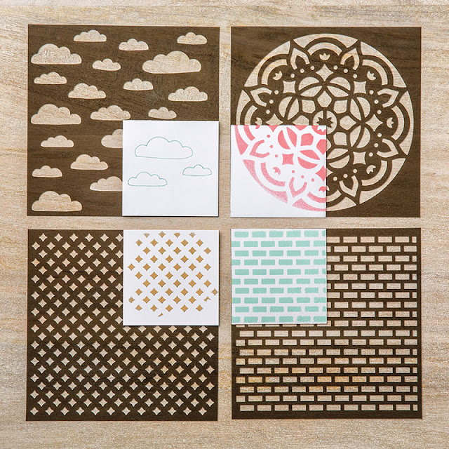 pochoirs Stampin' Up!