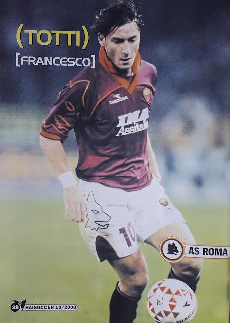 PIN UP FRANCESCO TOTTI (AS ROMA)