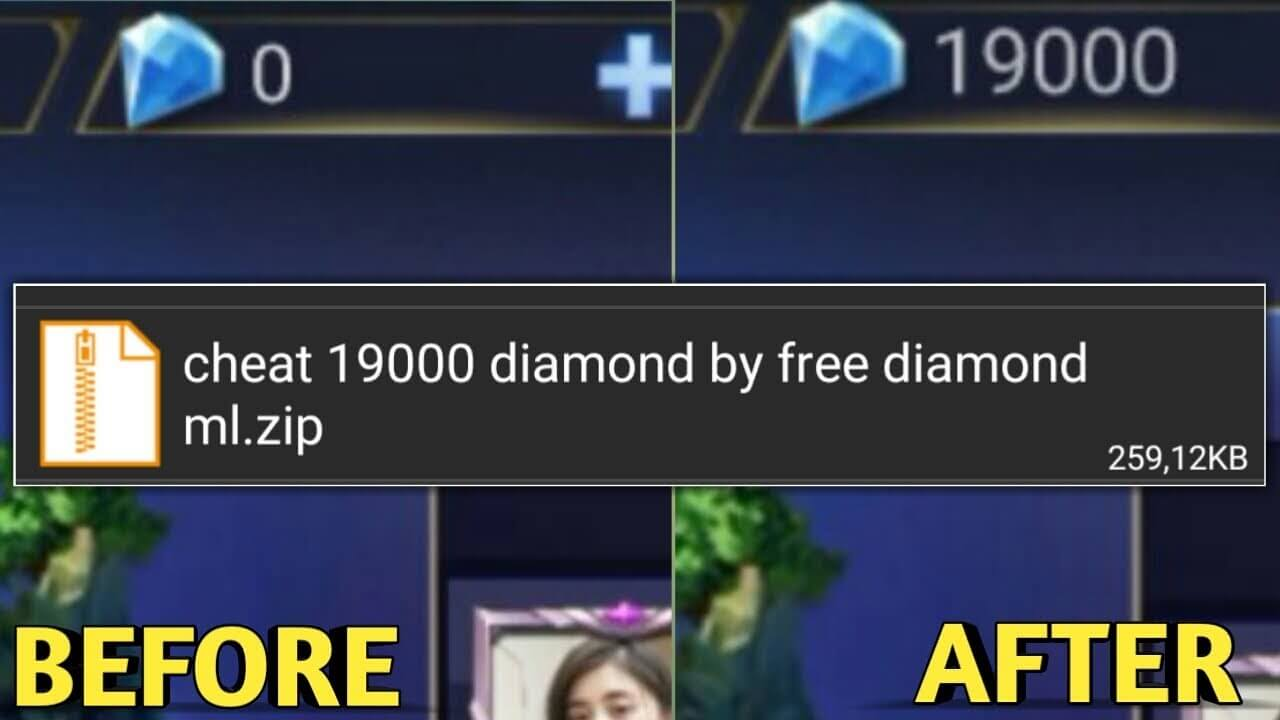 download script 19000 diamond mobile legends gratis patch guinevere