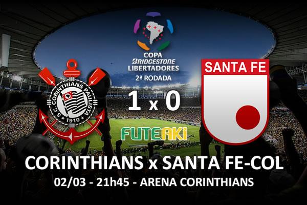 Veja o resumo da partida com os gols e os melhores momentos de Corinthians 1x0 Santa Fe-COL pela 2ª rodada da Copa Libertadores da América 2016.
