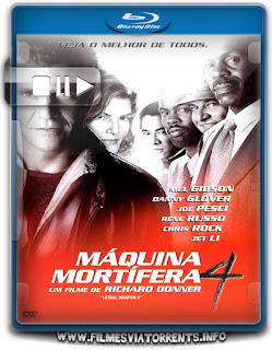 Máquina Mortífera 4 Torrent - BluRay Rip 720p Dual Áudio