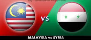 Keputusan Penuh Malaysia Vs Syria 12 November 2014