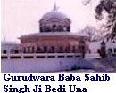 Gurudwara Baba Sahib Singh Ji.