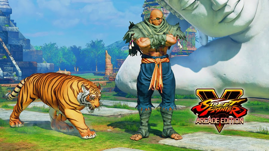 street fighter 5 sagat dlc evo 2018