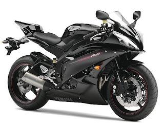 Diseño de motos color negro