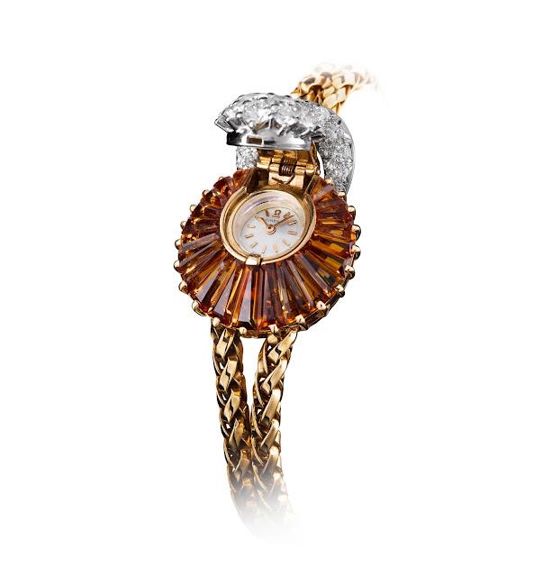 Đồng hồ Omega nữ Topaz Jewelry Secret Watch