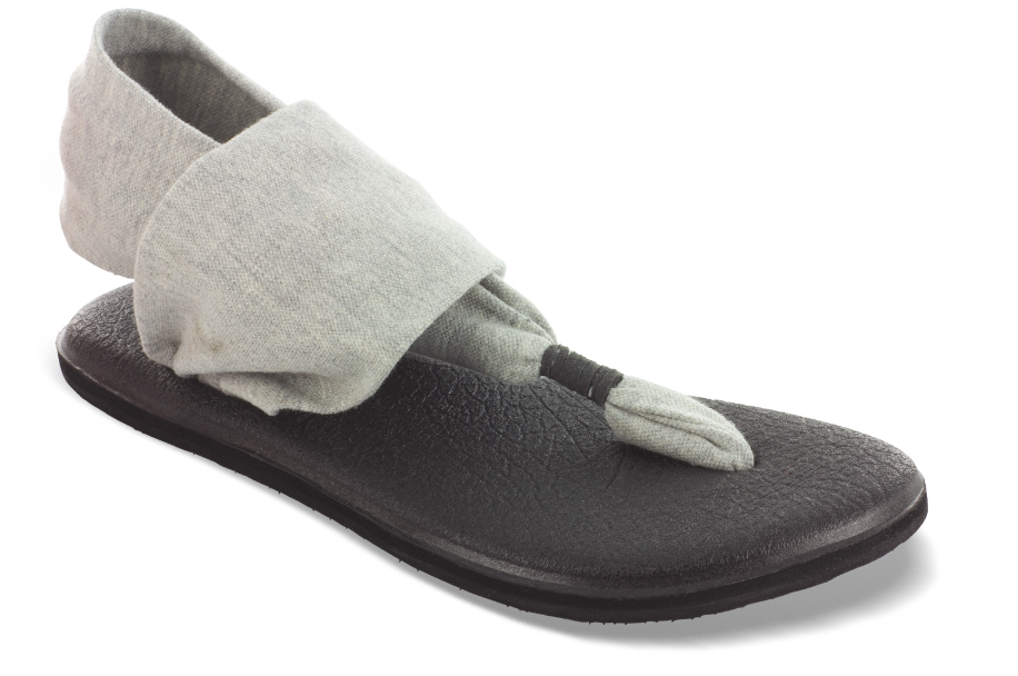 Sanuk Yoga Mat Sandals On Walking Peacefully The Beauty