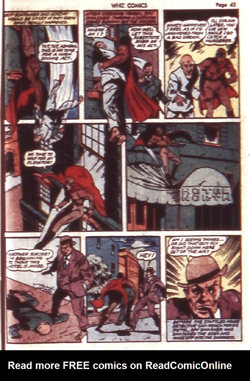 WHIZ Comics issue 23 - Page 45