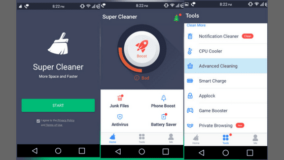 Clean Master (Free) Cheetah Mobile's Clean Master comes with a Junk Files tool for cleaning your phone's app and system cache as well as temp files.