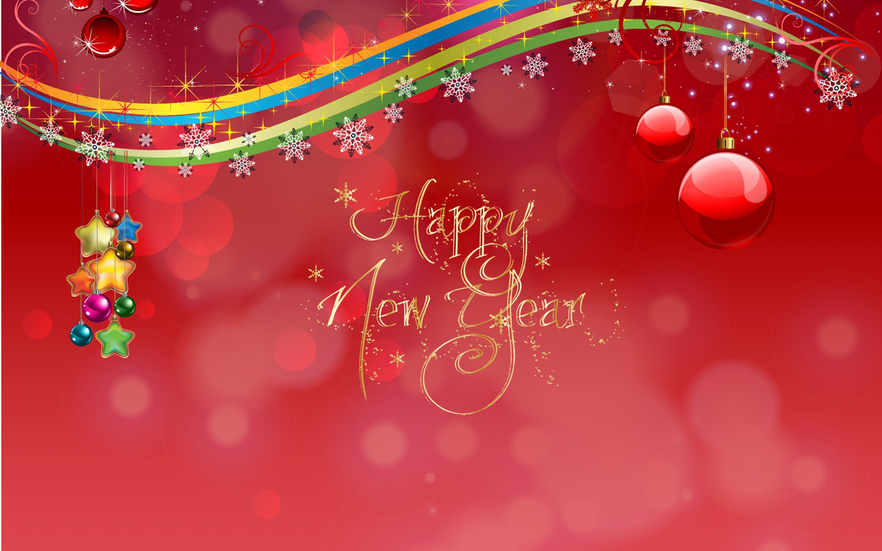 Christmas and New Year 2012 Greetings WALLPAPER | Trickmaker