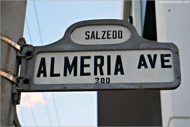 Avenida Almería en Coral Gables, Florida