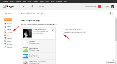 Use Google+ Comments on this blog