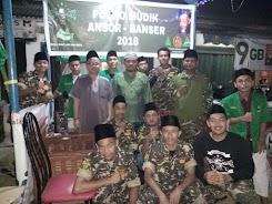 Jelang Iedul Fitri Ansor Banser Cariu Sigap Bantu Pemudik di Posko Mudik Lebaran 2018