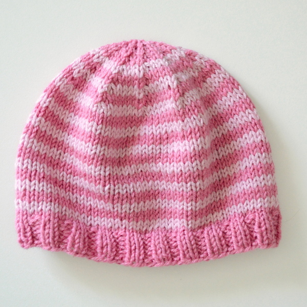 cozy birdhouse | newborn striped hat