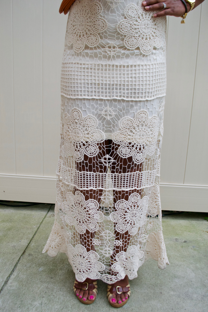 Crochet Maxi dress for the summer
