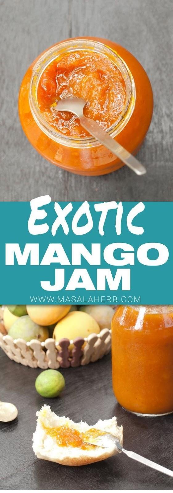 Homemade Mango Jam Recipe