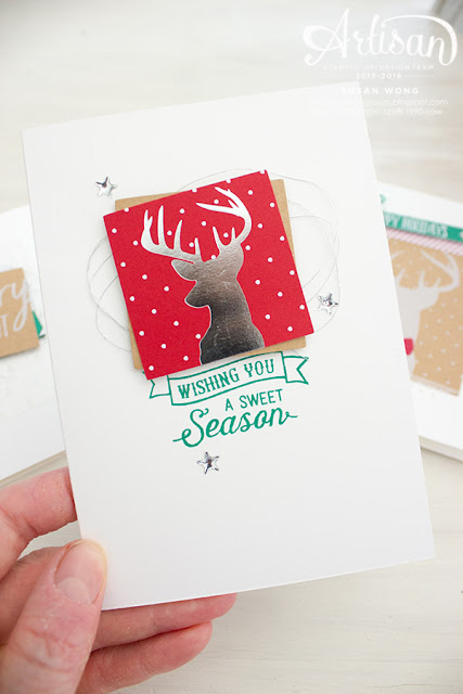 Hello December Christmas Card 4 ~ Susan Wong