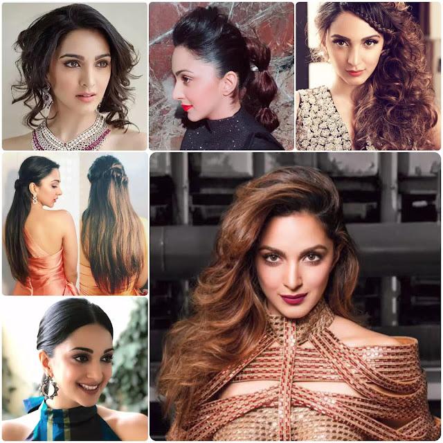 Kiara Advani Hairstyles