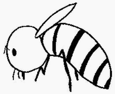Spelling Bee Coloring Pages