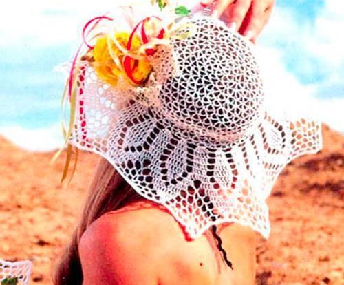 Sombrero de Playa a Crochet.