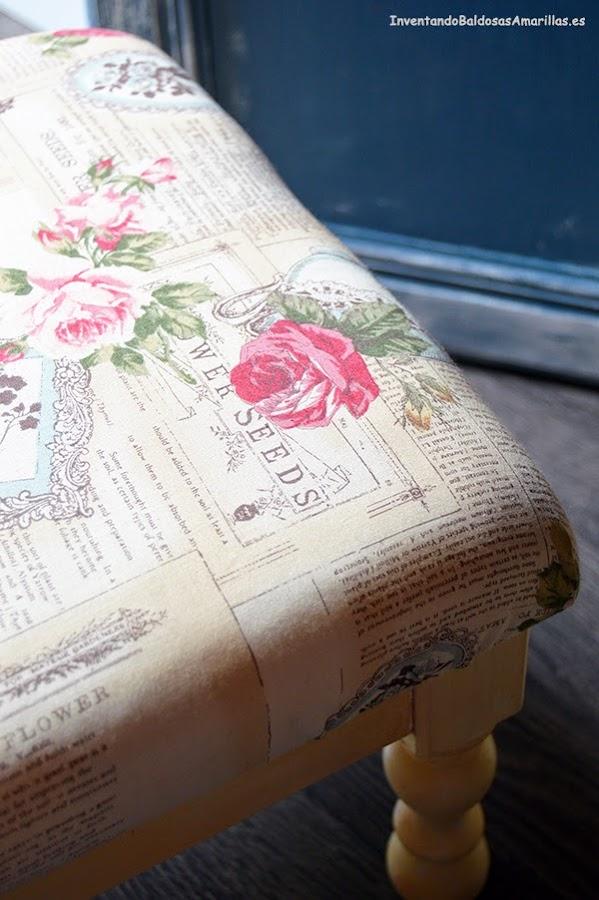 tela vintage decoracion