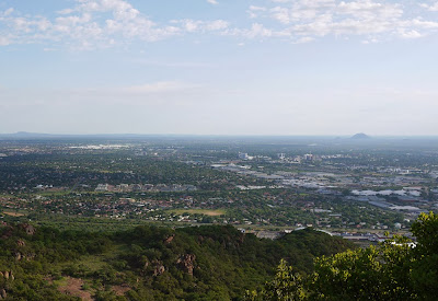 Vista de Gaborone – Botsuana