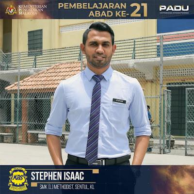 Guru Adiwira PAK21: Cikgu Stephen Isaac [SMK (L) Methodist, Sentul, Kuala Lumpur]