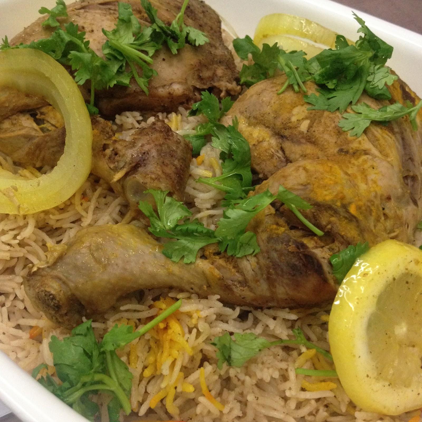 Cik Wan Kitchen: Nasi Arab Mandy