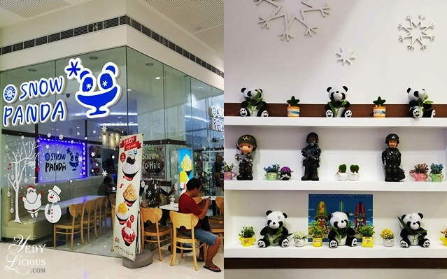 Snow Panda at SM Angono, Restaurants in SM Center Angono Rizal, SM Angono Food Crawl, List of Restaurants in Angono Rizal, Angono Rizal Food Trip, Best Restaurants in Angono Rizal, Where To Eat in Angono Rizal, Blog Review YedyLicious Manila Food Blog