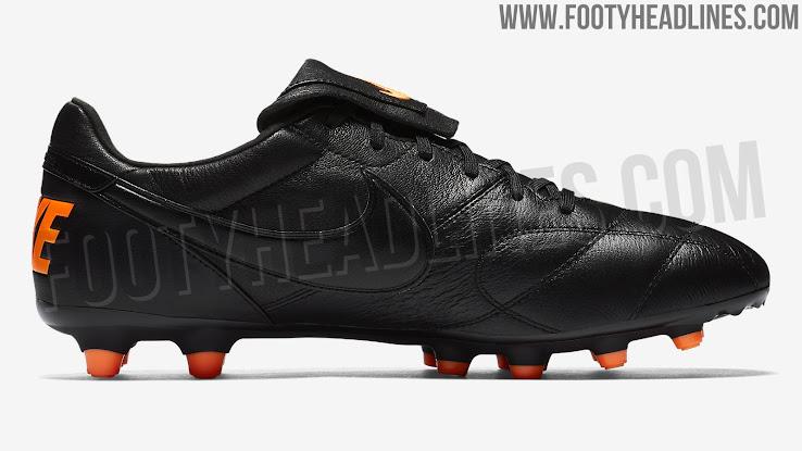 449aecd8d Black / Orange Nike Premier II Boots Released - Footy Headlines