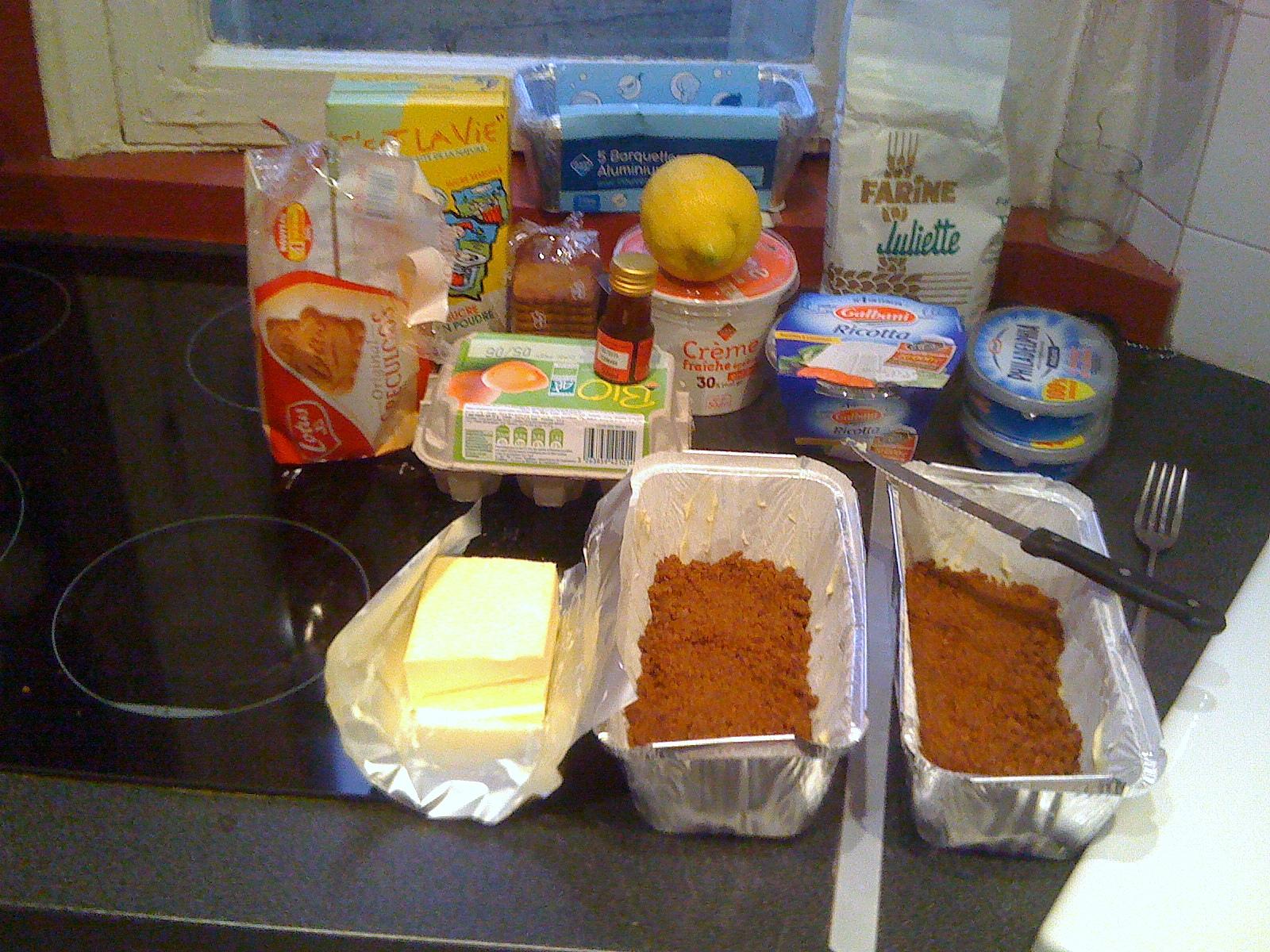 le cheesecake ou comment je me suis pris pour une blogueuse culinaire sans avoir ni les. Black Bedroom Furniture Sets. Home Design Ideas
