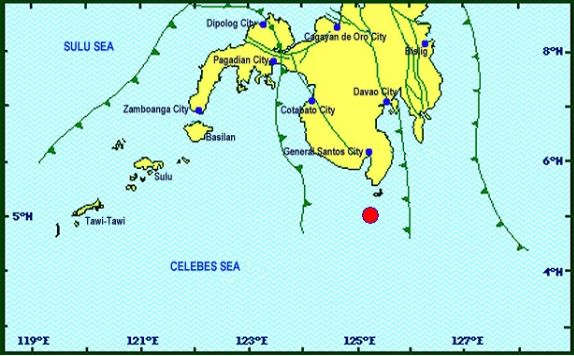Magnitude 7.2 earthquake hits Sarangani, Davao Occidental on April 29, 2017
