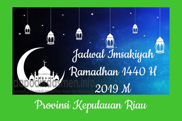 Jadwal Imsakiyah Ramadhan Provinsi Kepulauan Riau