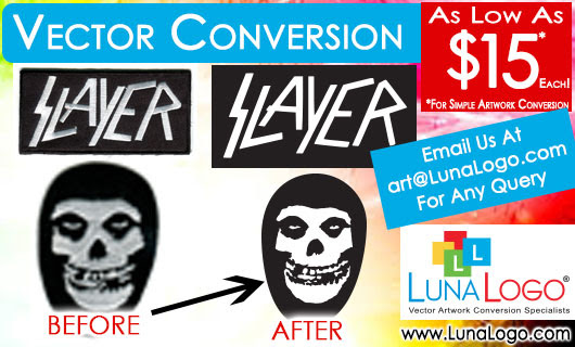 Raster to Vector Image Conversion - As Low As $15