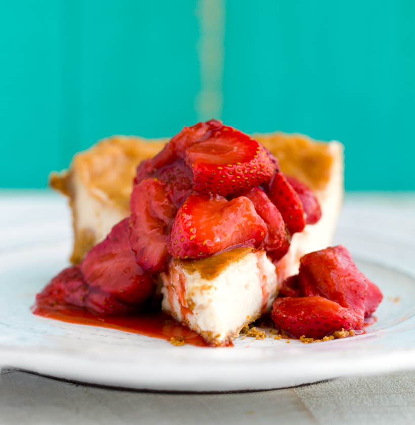 Vegan Classic Baked Cheesecake