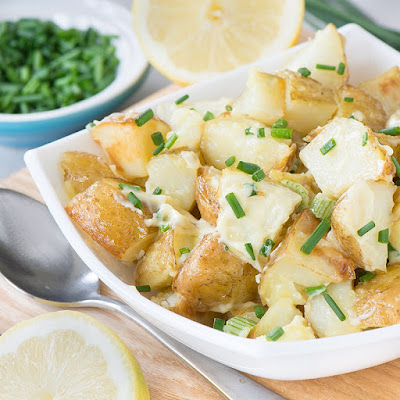 Potato salad is a popular choice for picnic foods here in the UK