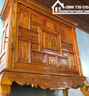 Mua tủ thờ tại Huế - Dogonoithattaihue.com - Đồ gỗ nội thất tại Huế