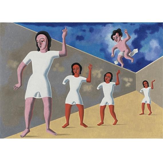El amor anda suelto obra de Carlos Mérida.