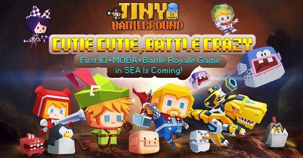 Tiny Battleground, MOBA pixel Pesaing berat Mobile Legend:Bang Bang