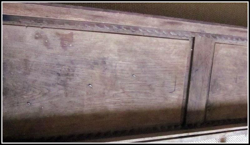 Antique Door turned Coffee Table