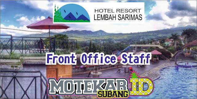Info Loker Hotel  Lembah Sari Mas Ciater Front Office Staff Subang April 2019